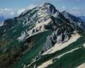 燕岳「花崗岩のふるさと」