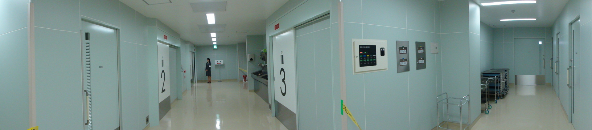 手術センターエントランス