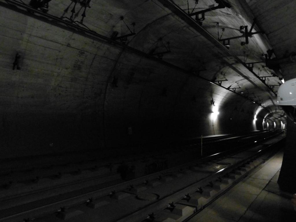 北神トンネル本坑