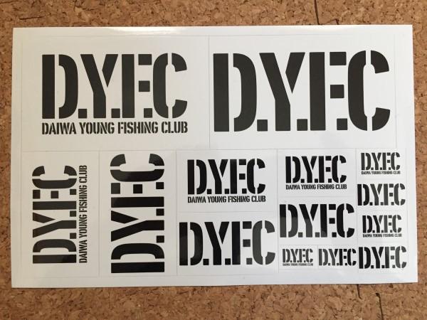 DYFCステッカー