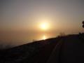 京都新聞写真コンテスト 琵琶湖の夕景