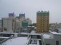 3月2日朝、青森にて。