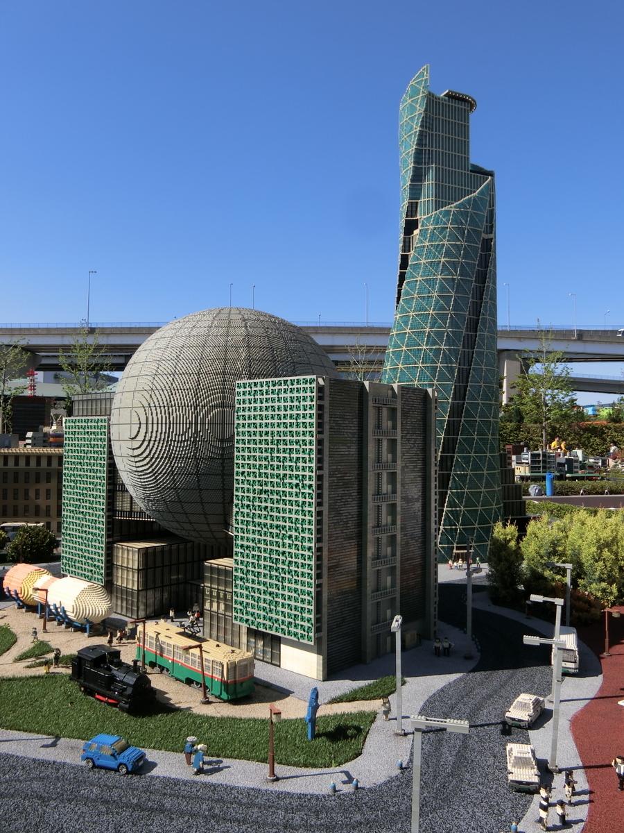 名古屋市科学館とモード学園スパイラルタワーズ@レゴランド