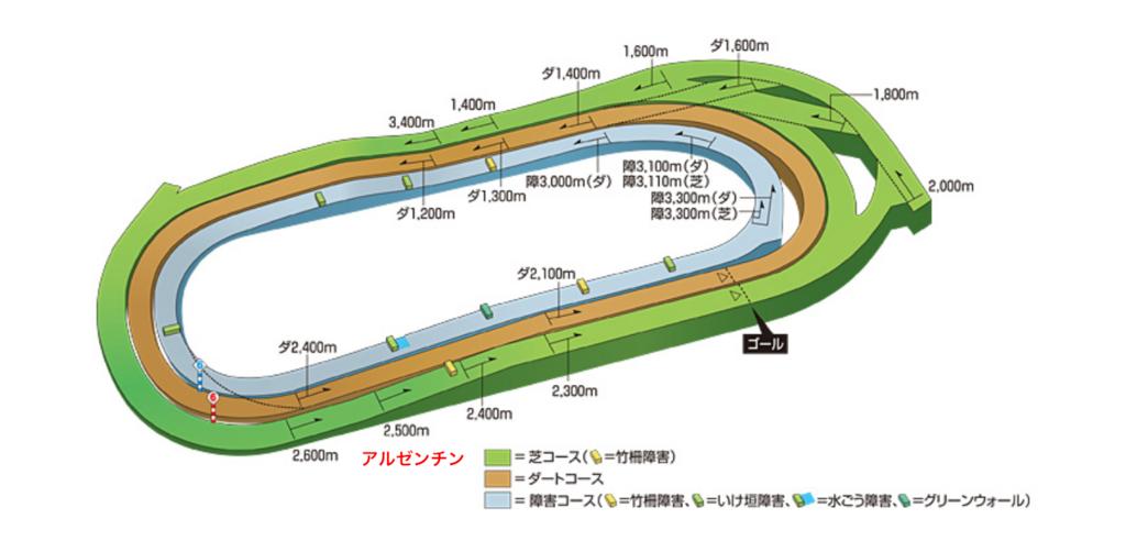 東京競馬場 コース