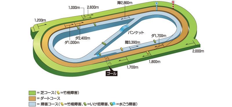 小倉競馬場_コース
