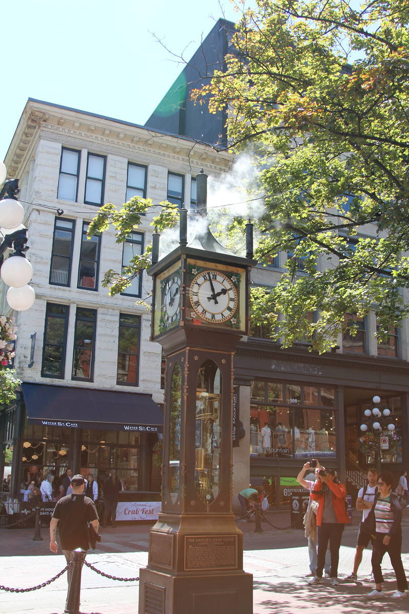 バンクーバー蒸気時計