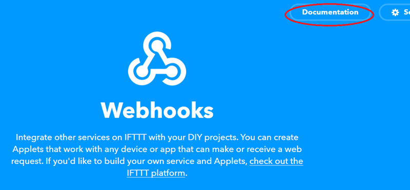 IFTTT Documentation
