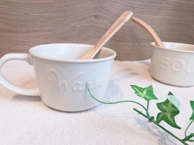 ダイソーのスープカップ