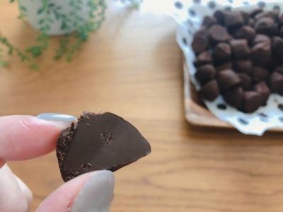 気になるチョコの味は?!