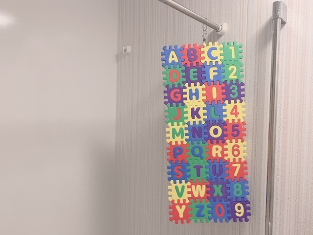 アルファベットパズル 片付け