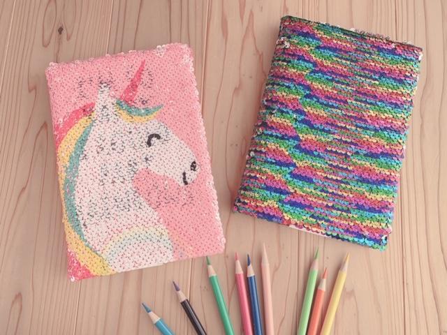 【フライングタイガー】キラキラスパンコールノートの可愛さに意味なんていらないの!!
