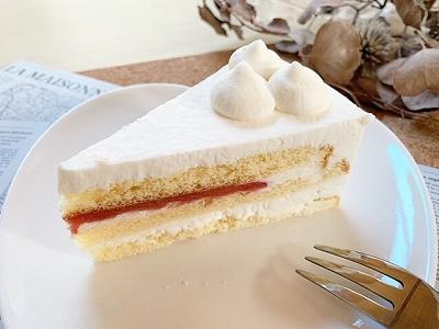 ショートケーキ 実食