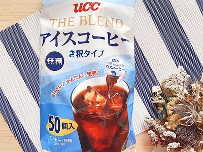 UCC ブレンドアイスコーヒー無糖 希釈タイプ