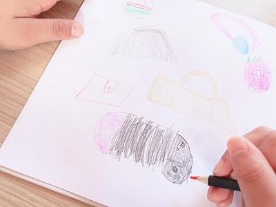 娘の描く絵本