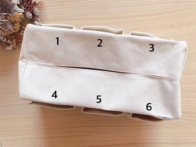 6つのポケット