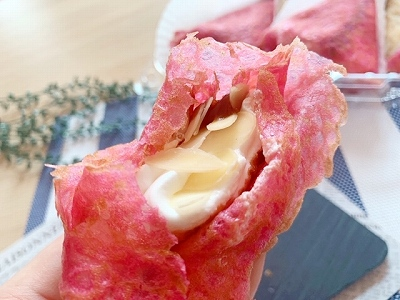 ピンク実食♡