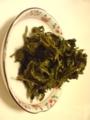 烏龍茶 1回分の 茶葉の 出がらし。 モリモリ 勿体無い〜