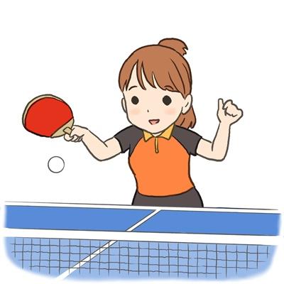 伊藤美誠ちゃんと卓球台