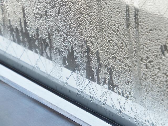 マンション窓の結露対策