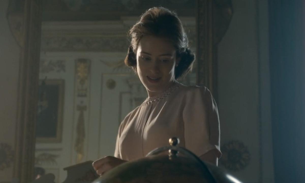 ザ・クラウンのエリザベス女王