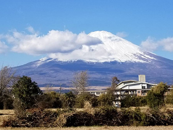 1月1日の富士山