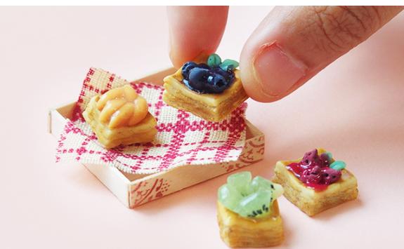 デニッシュパンと小箱のセット