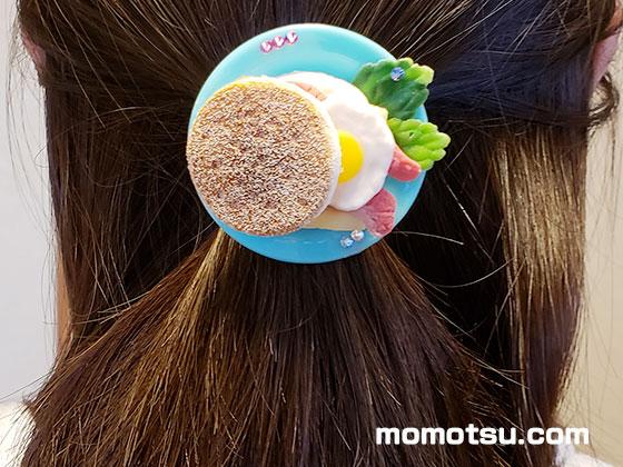 エッグトーストのポニーフック