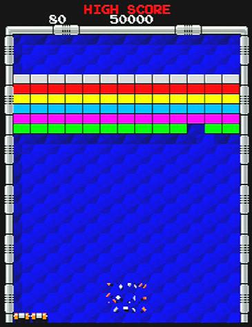 [ゲーム][アーケード][アルカノイド]
