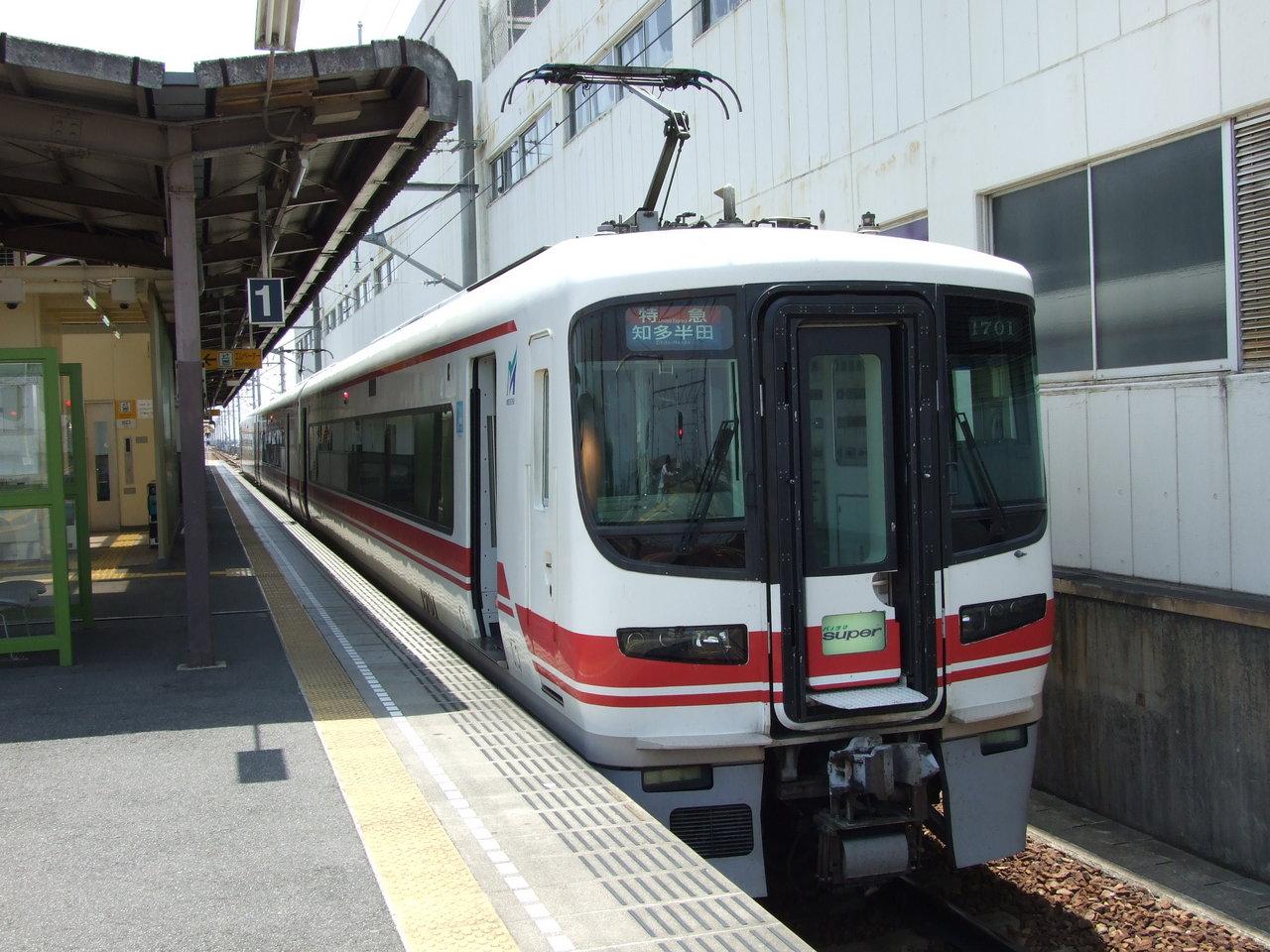名鉄1600系@西尾