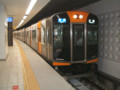 阪神ドーム前駅にて