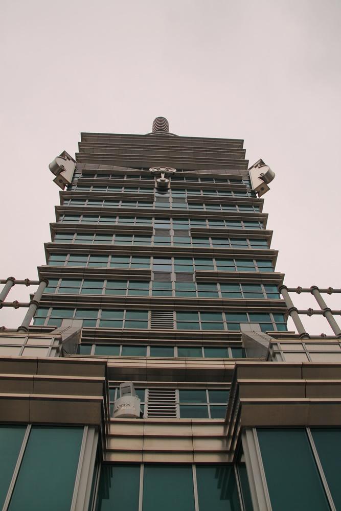 台北101屋上