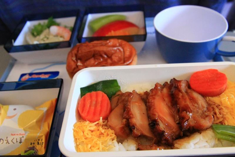 福岡→台北 機内食