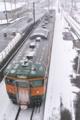 [信越本線][風雪][大雪注意報][西松井田駅][115系]信越本線