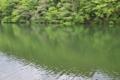 [大桁湖][ダム湖][湖面][水面][砂防ダム]大桁湖