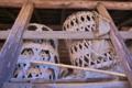 [納屋][農具小屋][背負いかご][六ツ目かご][竹かご]納屋
