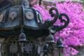 [青銅製燈籠][燈籠][ツツジ][つつじ][妙義神社]青銅製燈籠