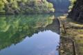[ダム湖][湖畔][湖面][砂防ダム][大桁湖]ダム湖