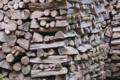 [薪小屋][納屋][薪][薪棚][ジェンガ]薪小屋