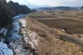 [九十九川][碓氷川支流][利根川水系][一級河川][雪解け]九十九川