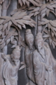 [竹林七賢人][彫刻][拝殿][脇障子][妙義神社]竹林七賢人