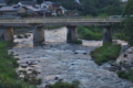 [碓氷川][一級河川][利根川水系][夕暮れ][増水]碓氷川