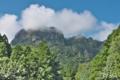 [金鶏山][妙義山][白い雲][夏山][岩山]金鶏山