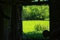 [農具小屋][納屋][倉庫][田んぼ][田園]農具小屋