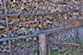 [薪小屋][薪][焚き木][農具小屋][納屋]薪小屋
