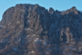 [金鶏山][登山禁止][岩場][岩壁][落石]金鶏山