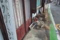 [路地][路地裏][空き屋][廃屋][クリーニング店]路地
