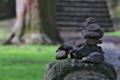 [積み石][ケルン][道標][登山道][妙義神社]登山道