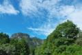 [金鶏山][青空][夏空][雲][妙義山]金鶏山