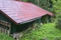 [民家][山小屋][赤い屋根][森の中][上小坂]民家