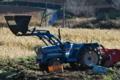 [コンニャク畑][蒟蒻畑][トラクター][芋掘り][イモ掘り]コンニャク畑